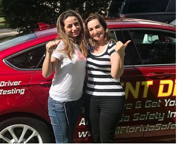 parent and teen daughter online florida permit test